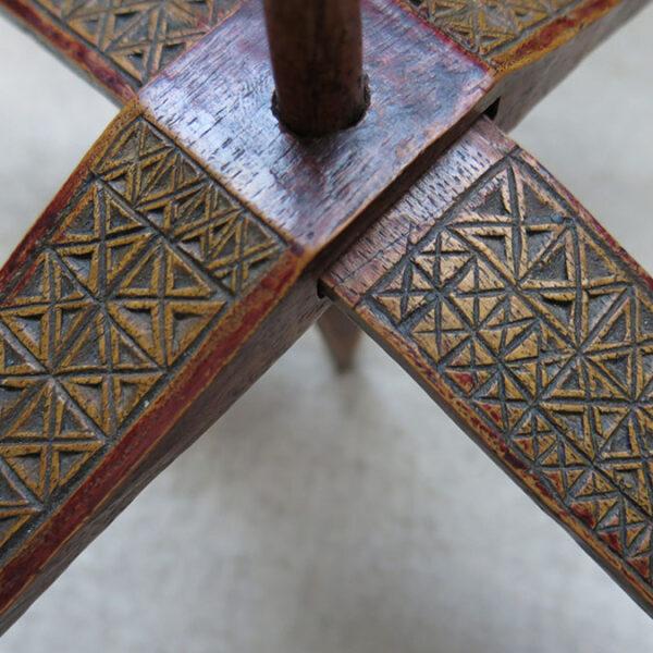 ANATOLIAN KARAPINAR Turkmen hand carved drop spindle