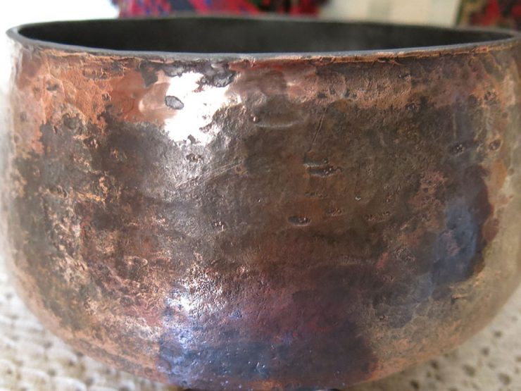EASTERN ANATOLIA – Hand Forged tinned copper pot