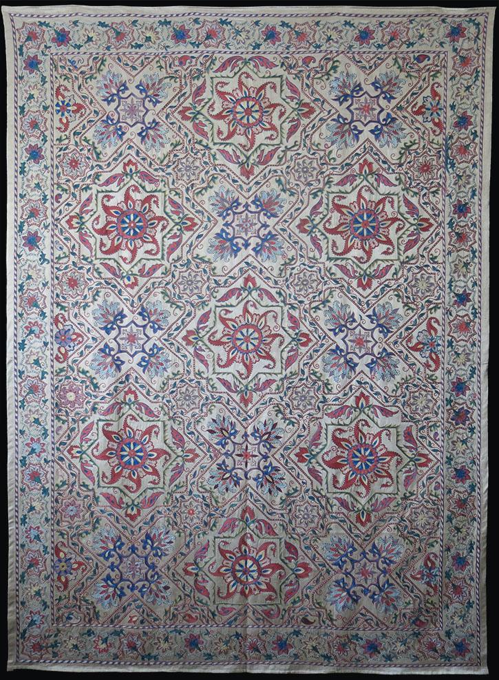 UZBEKISTAN BOKHARA NURATA silk revival Suzani