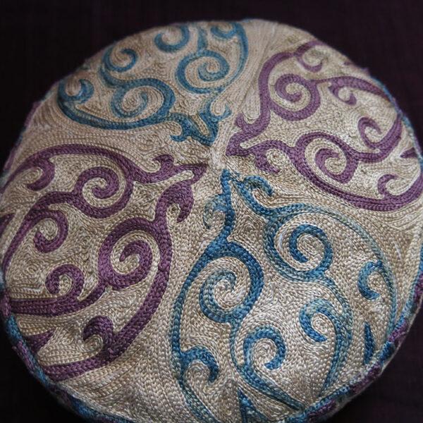 UZBEKISTAN – SHAHRISABZ LAKAI ethnic silk hat