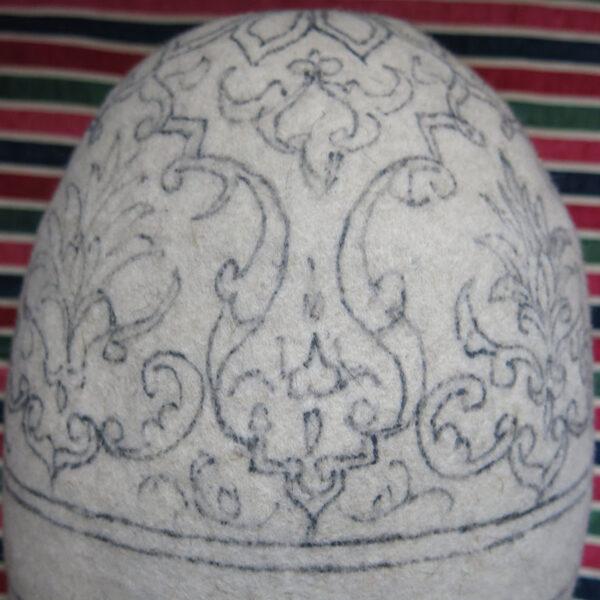 PERSIA ISFAHAN felt Dervish Kollah - Headwear