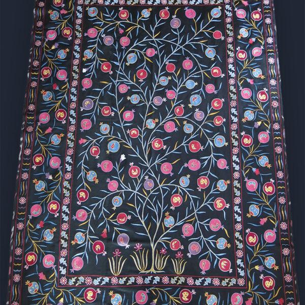 UZBEKISTAN – FARGAN VALLEY Silk embroidery SUZANI