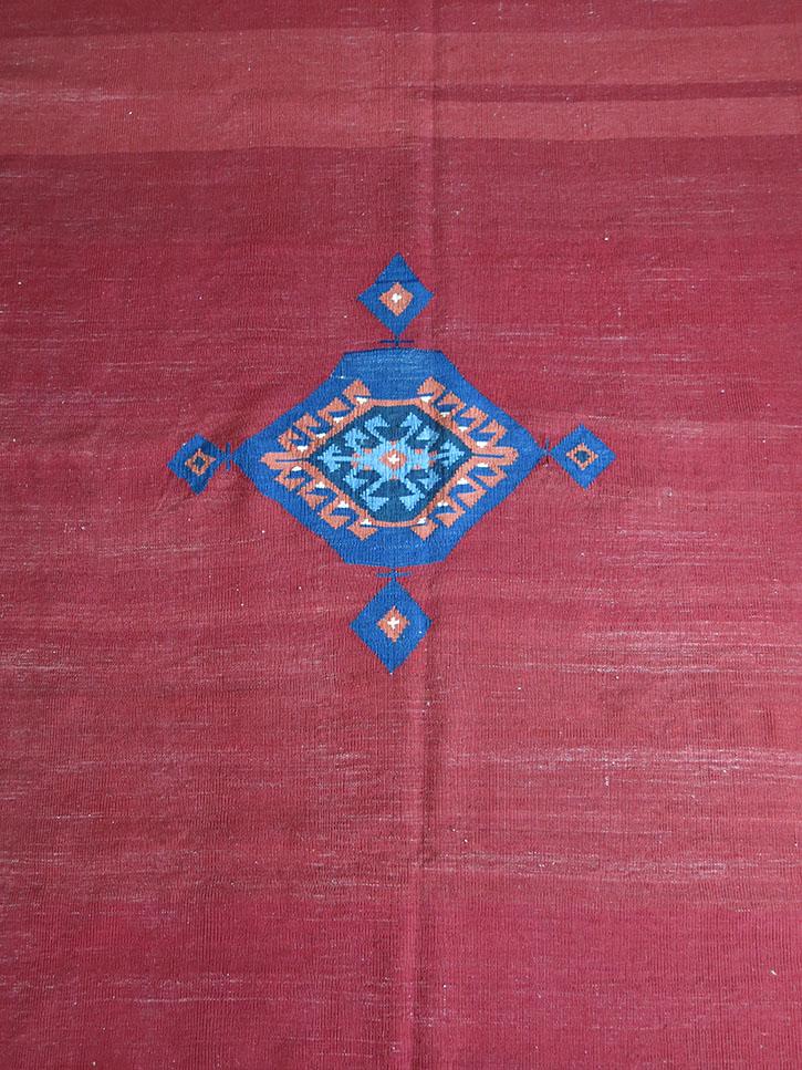 WESTERN TURKEY BERGAMA Sofreh wool kilim
