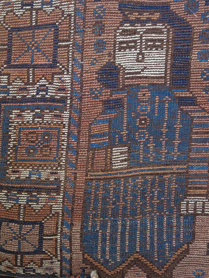 KHORASAN - KURDISH wool main rug