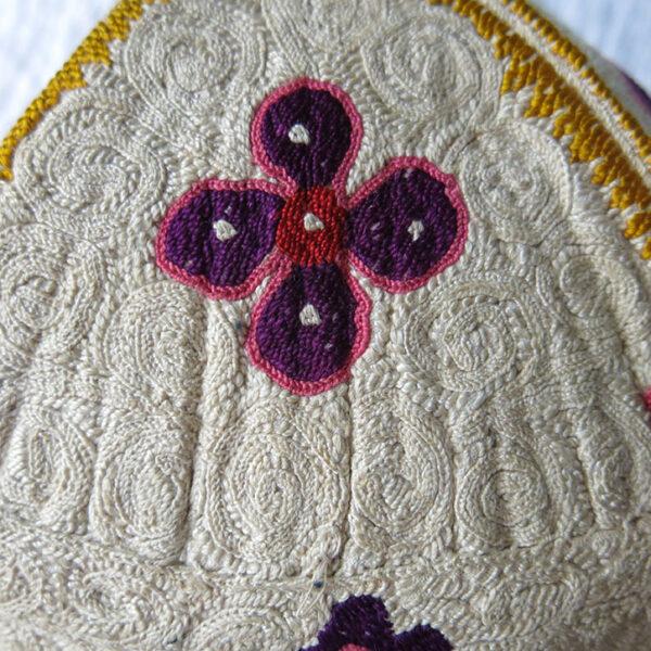 UZBEKISTAN TASHKENT Silk embroidered ethnic hat