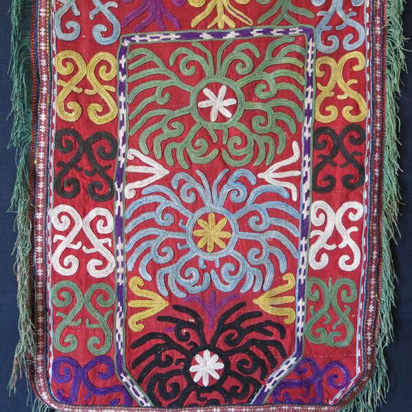 UZBEKISTAN LAKAI Silk embroidery mirror bag