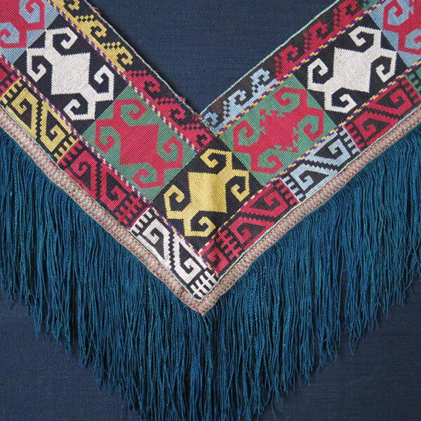 UZBEKISTAN – SHAHRISABZ LAKAI SAGUSHA very fine silk embroidery hanging
