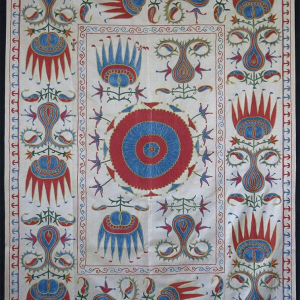 UZBEKISTAN FARGAN Valley ethnic silk Suzani