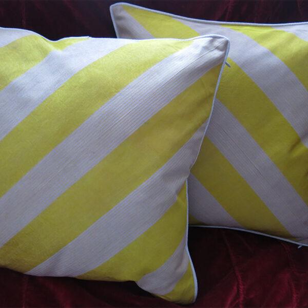 ANATOLIA – GAZIANTEP Silk ALACHA – IKAT Pillow covers