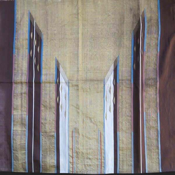 SYRIA ALEPPO SILK ABA / Ceremonial large size coat top