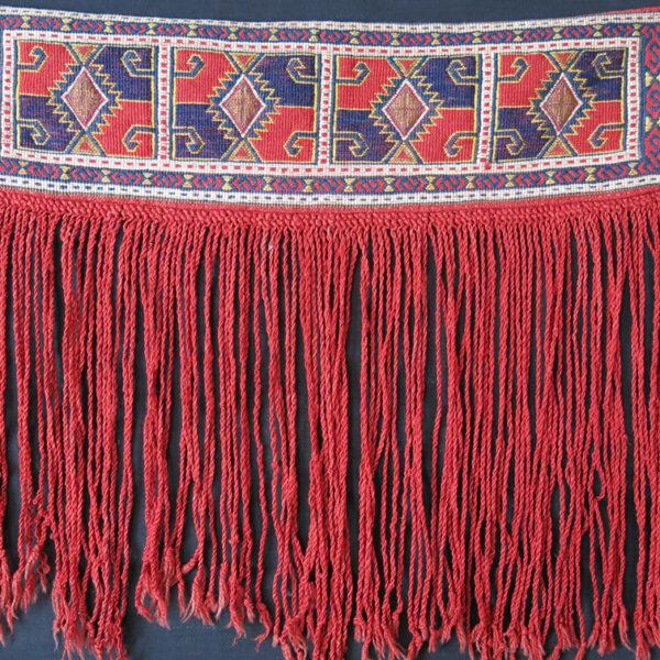 Central ANATOLIA – KONYA tribal flat bread rolling pin holder