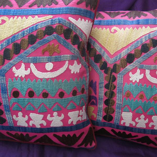 UZBEKISTAN Suzani pillow covers