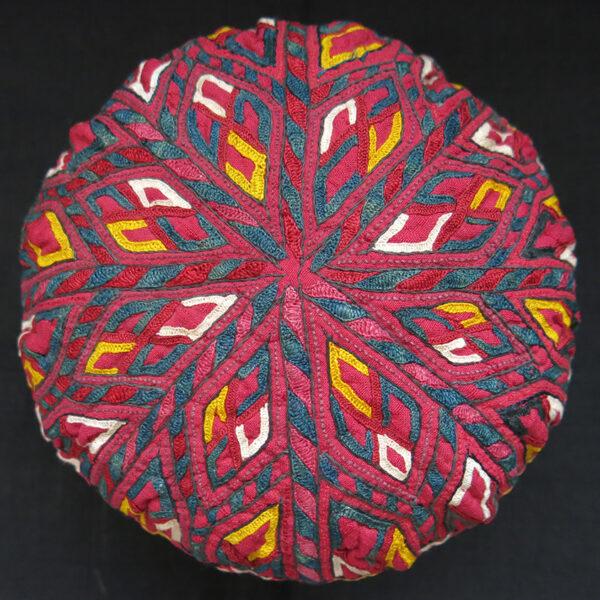 CENTRAL ASIA TEKKE TURKMEN ceremonial hat