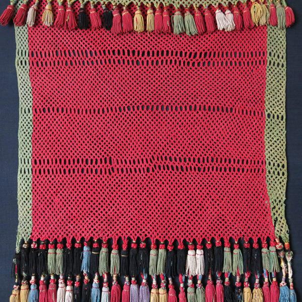 TAJIKISTAN LAKAI Silk hand knitted wall Hanging