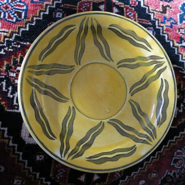 TURKEY KUTAHYA SITKI OLCAR Glazed ceramic plate