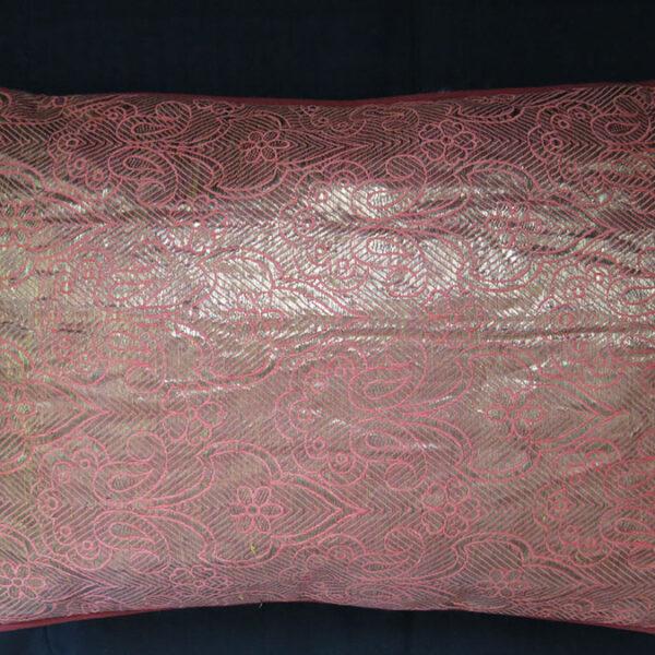UZBEKISTAN - BOKHARA Antique Russian brocade small pair of Pillow covers