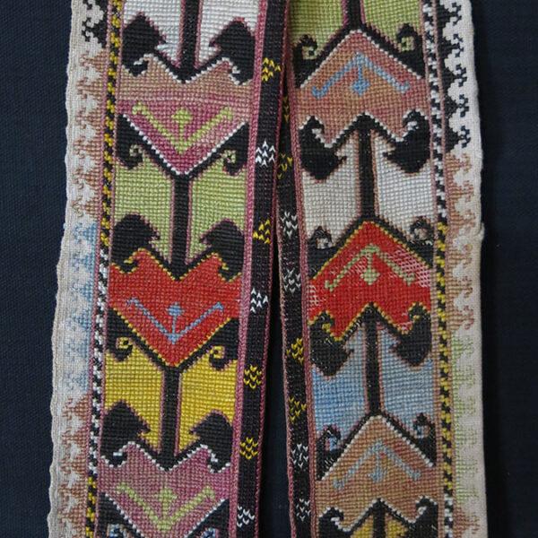 UZBEKISTAN – LAKAI tribal silk embroidered belt
